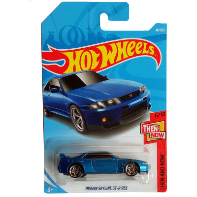 RARE Blue R33 GTR Hot Wheels