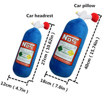 NOS Pillow and Headrest Pillow!