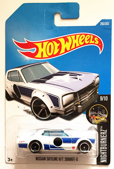 Hot Wheels Nissan Skyline H/T 2000GT-X