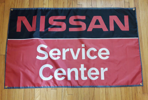 3ft x 5ft Nissan Service Shop Flag