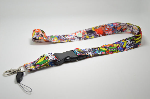 RARE JDM Collage Lanyard or Keychain