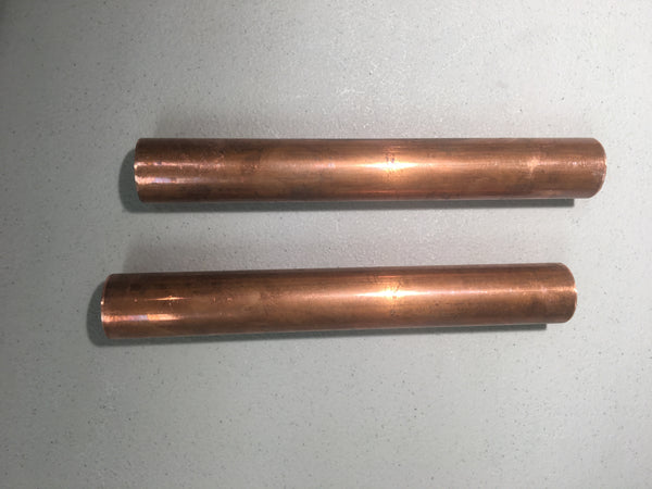 B4 Brass spacer pipes