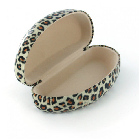 Cheetah Print Sunglass Case