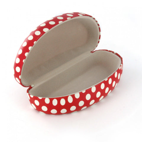 Polka Dot Sunglass Case