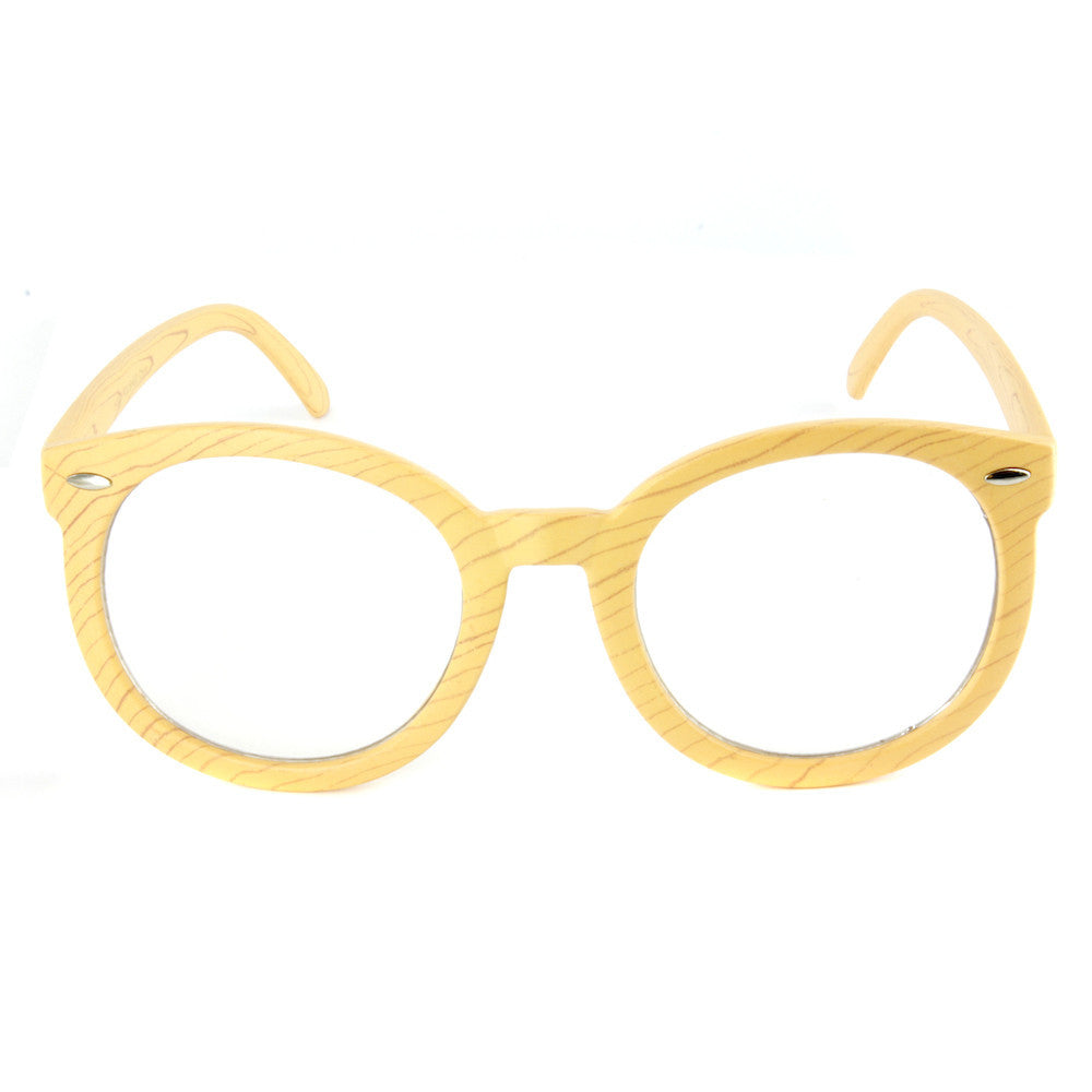 Wade Hipster Glasses (Wood Print)