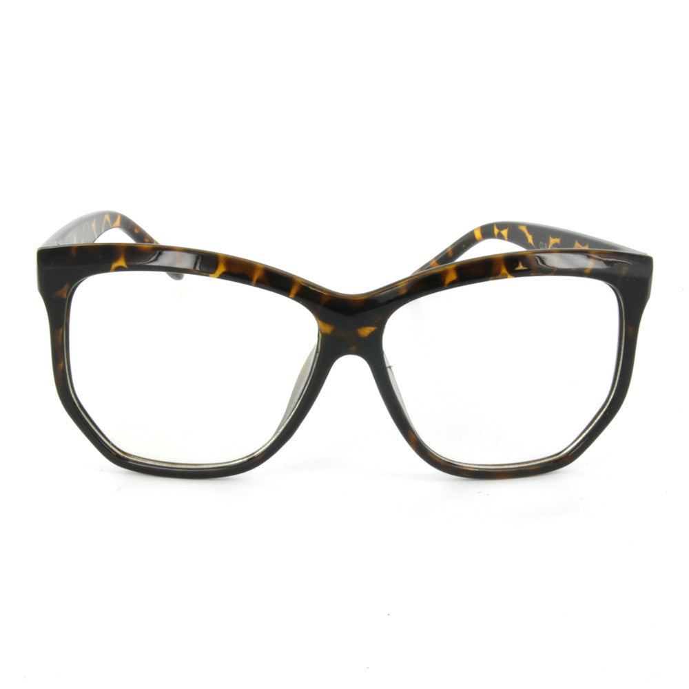 Beatrice Hipster Glasses (Clear Lens)