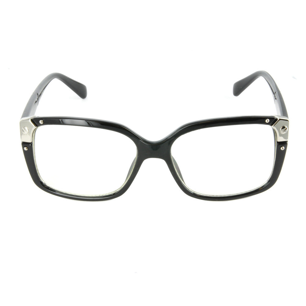 Kara Retro Glasses (Clear Lens)