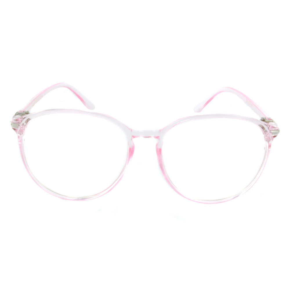 Theresa Vintage Hipster Glasses (Clear Lens)