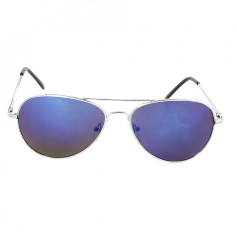 Aubrey Mirrored Aviator Sunglasses