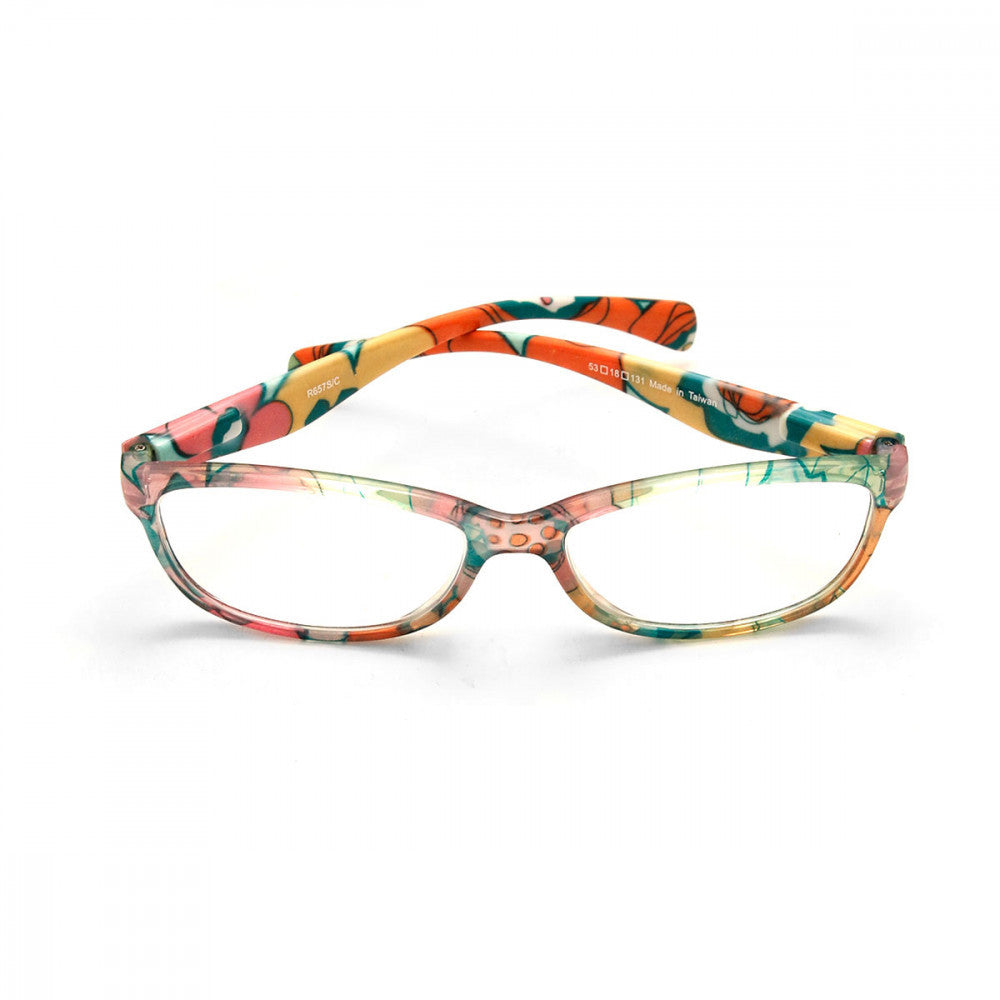Floral Print 1.00 Power Reader Glasses