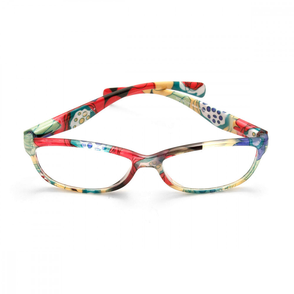 Floral Print 2.00 Power Reader Glasses