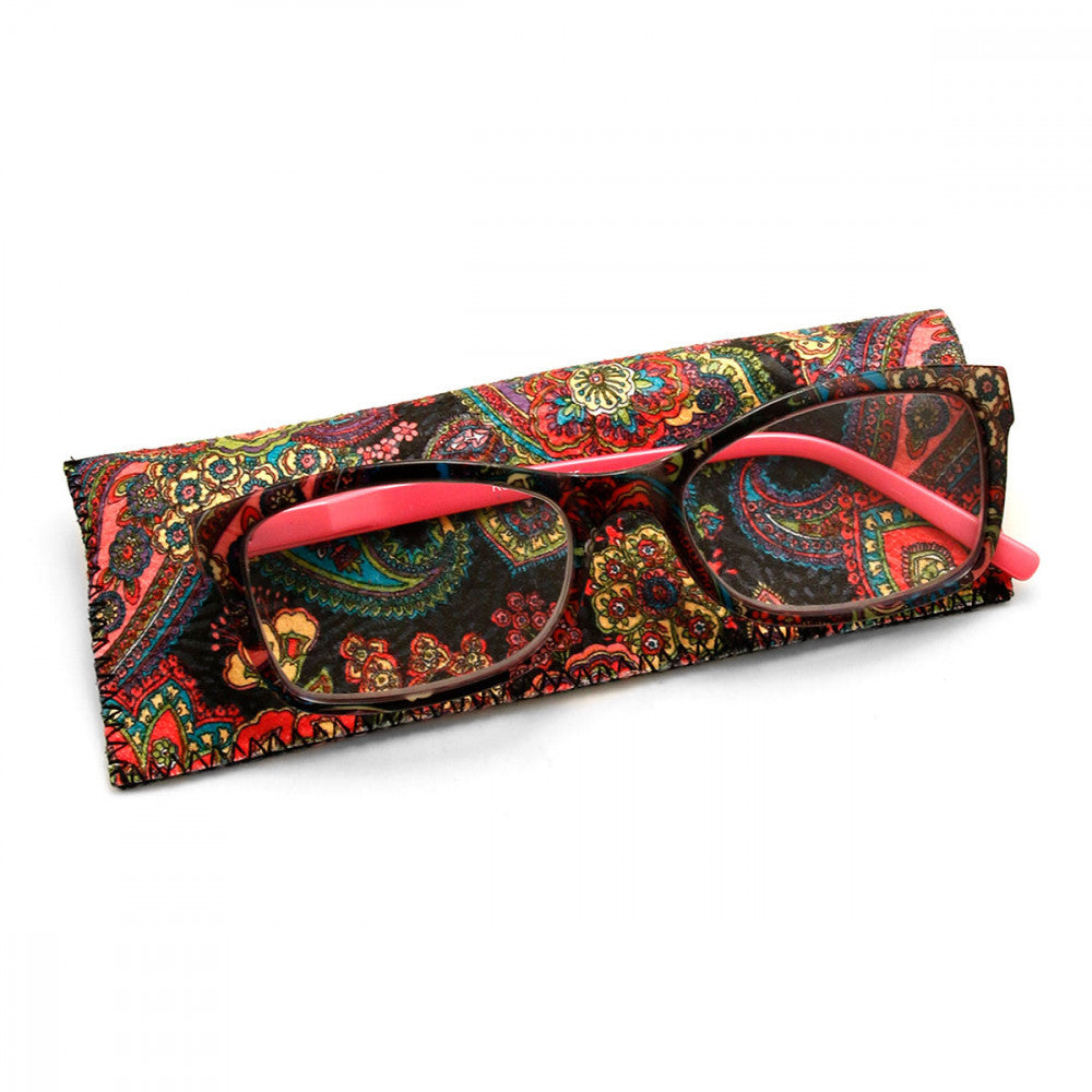 Spring Print 1.25 Power Reader Glasses