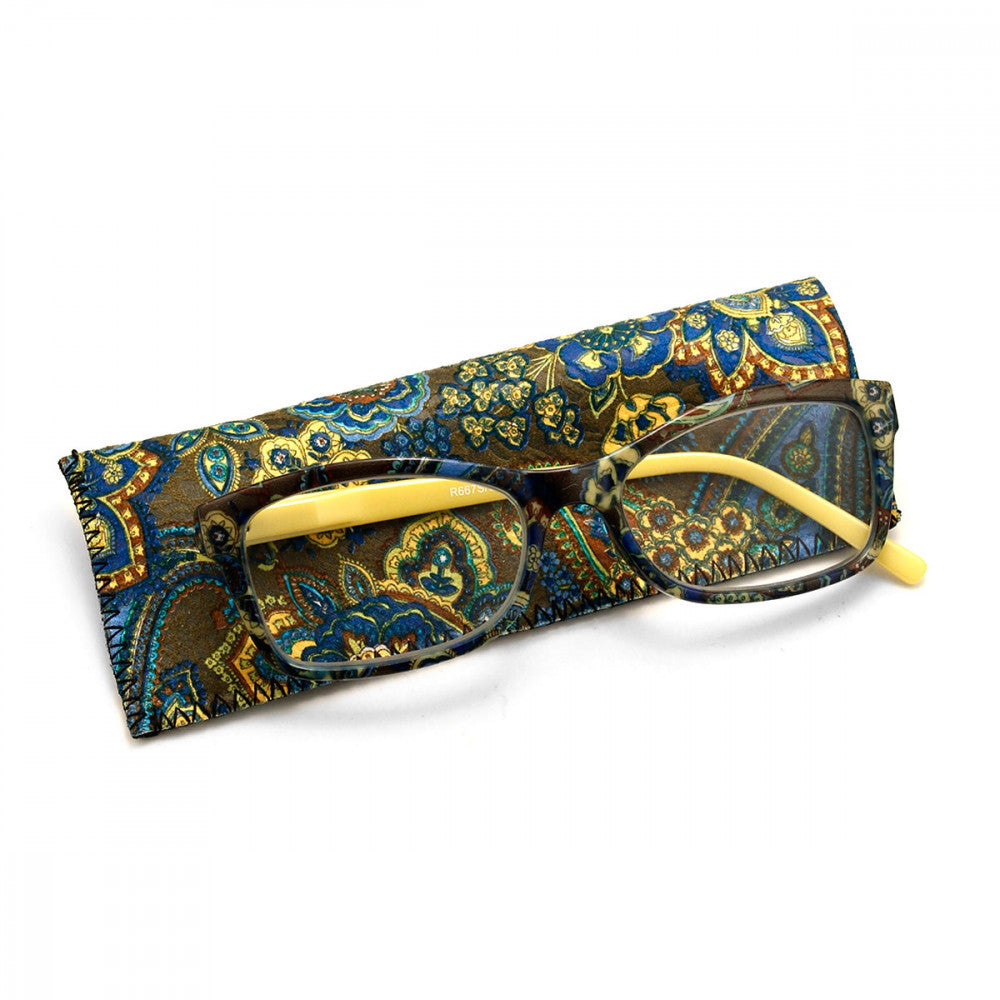Spring Print 2.25 Power Reader Glasses