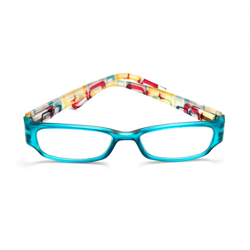 Retro Print 1.00 Power Reader Glasses