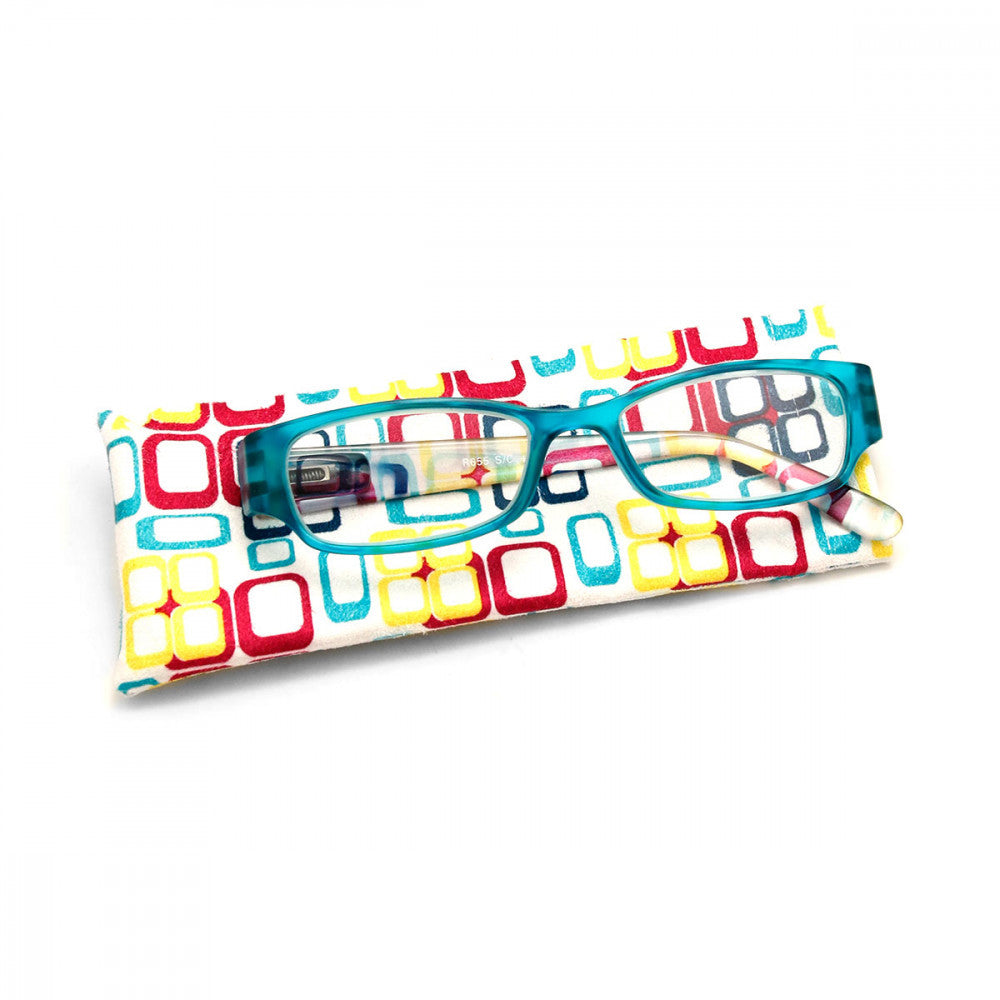 Retro Print 2.25 Power Reader Glasses