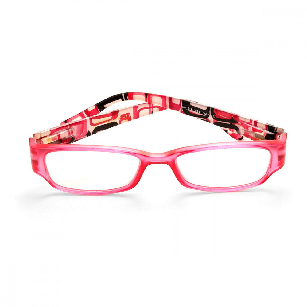 Retro Print 3.00 Power Reader Glasses