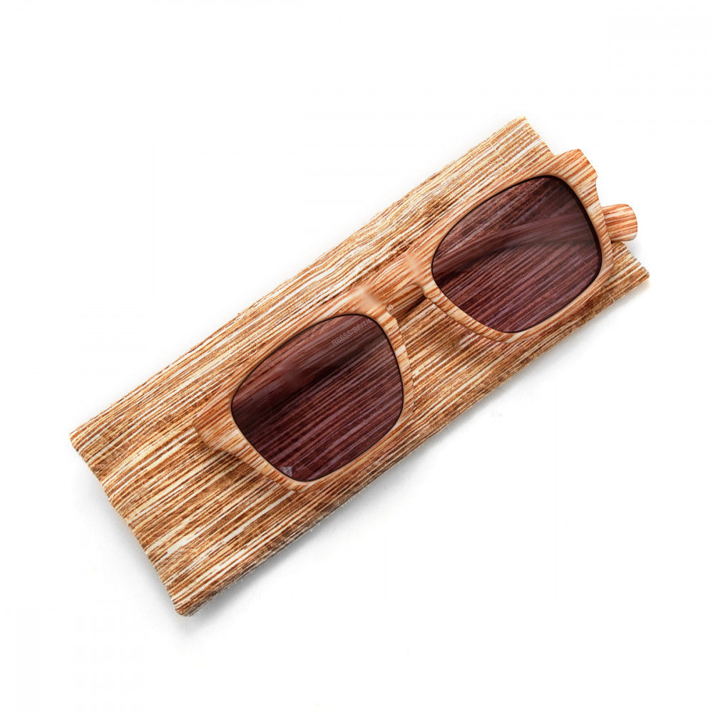 Wood Print 1.00 Power Reader Glasses