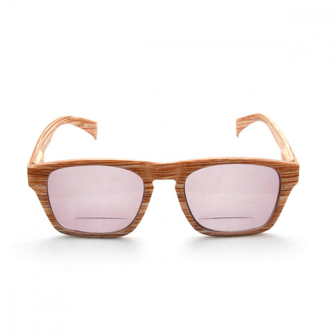 Wood Print 1.50 Power Reader Glasses