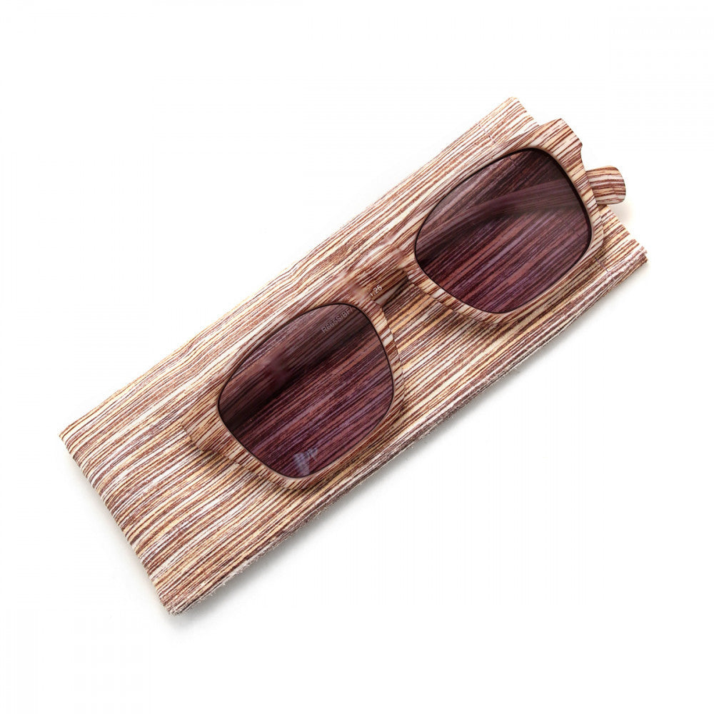 Wood Print 2.00 Power Reader Glasses