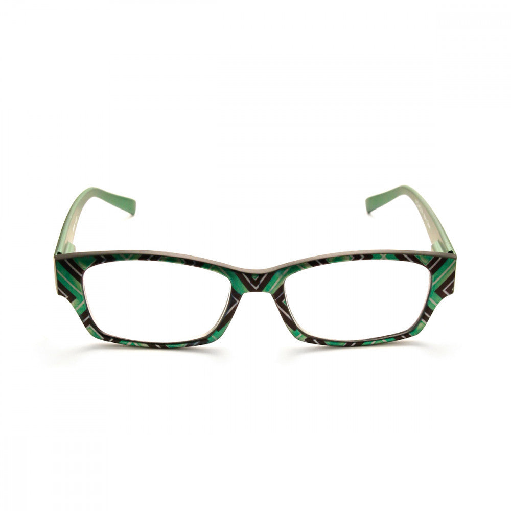 Square Patterned 2.25 Power Reader Glasses
