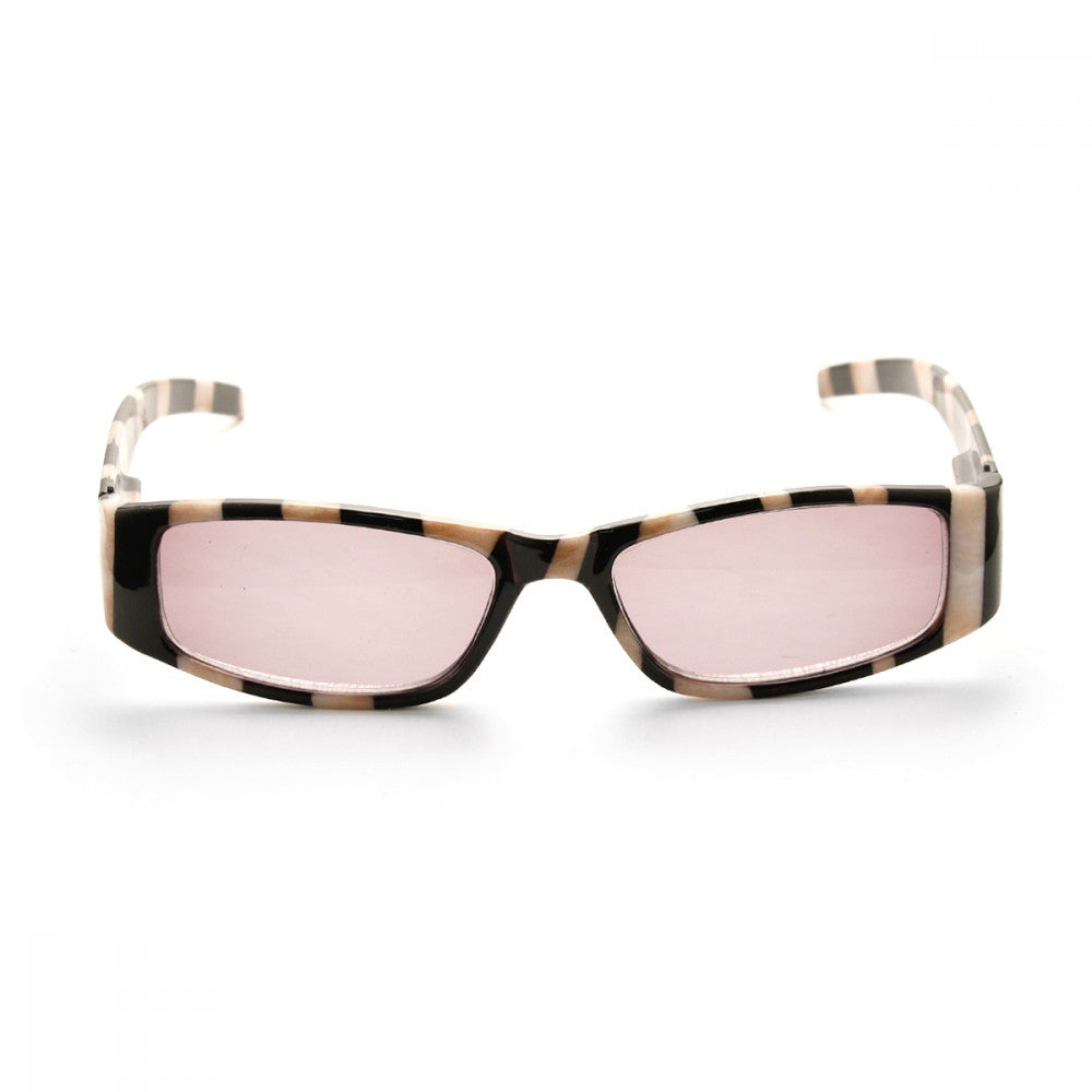 Stripped Patterned 2.25 Power Reader Glasses