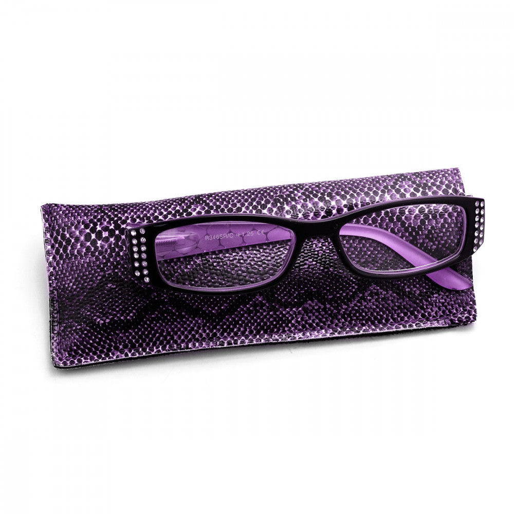 Snake Sparkle 1.25 Power Reader Glasses