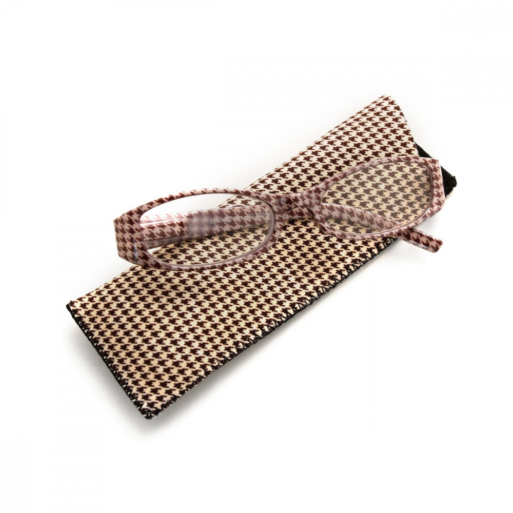 Houndstooth Pattern 1.50 Power Reader Glasses