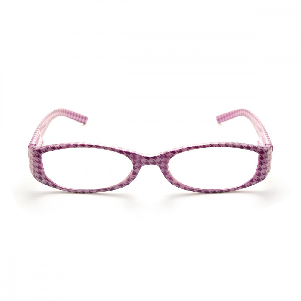 Houndstooth Pattern 2.50 Power Reader Glasses