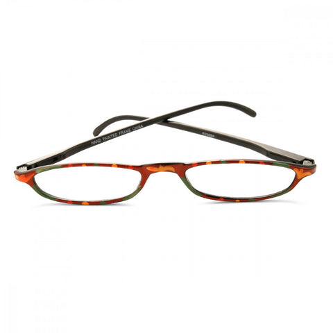 Thin Flowered 2.00 Power Reader Glasses