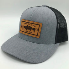 Speckled Truth with Leather Patch Cap (Heather Gray/Black)