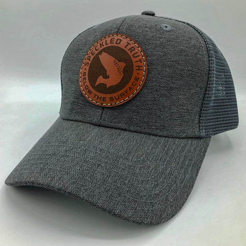Speckled Truth Circle Patch Cap (Charcoal/Charcoal)