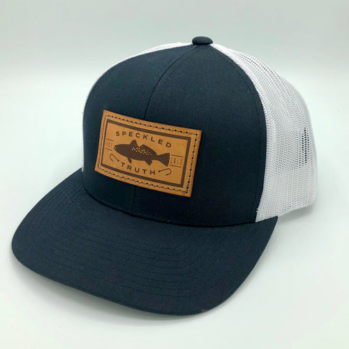 Speckled Truth with Leather Patch Cap