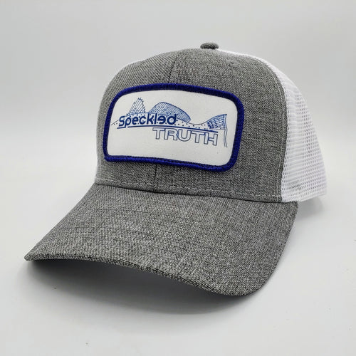 Speckled Truth Trucker (Heather Grey)