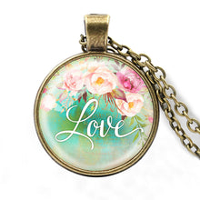 Load image into Gallery viewer, Faith, Hope, Love Pendant Necklace
