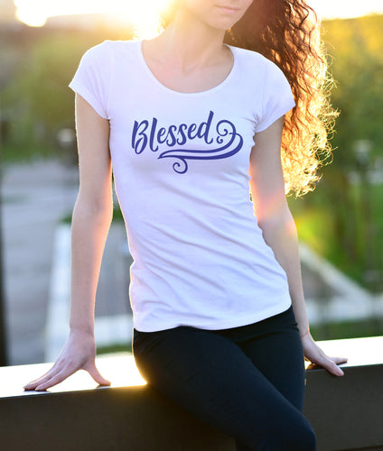 Womens Blessed T-Shirt