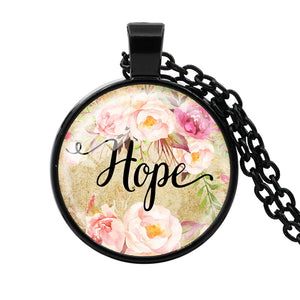 Faith, Hope, Love Pendant Necklace