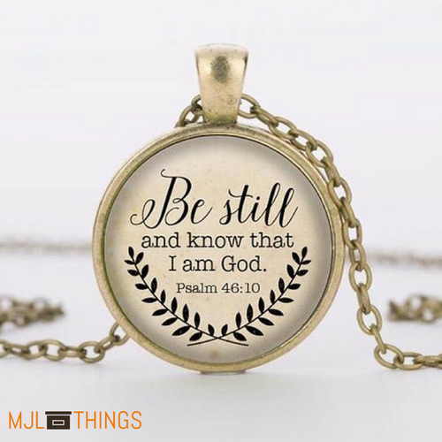 Be Still Bronze Necklace