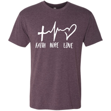 Load image into Gallery viewer, Faith Hope Love T-Shirt