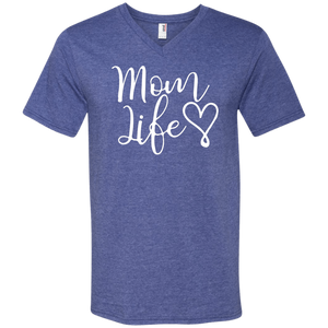 Mom Life V-Neck T-Shirt