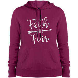 Womens Faith Over Fear Hoodie