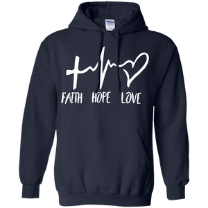 Faith Hope Love Hoodie