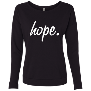 Womens Hope Long Sleeve T-Shirt
