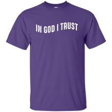 Load image into Gallery viewer, In God I Trust T-Shirt