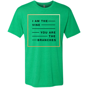 I Am The Vine You Are the Branches Triblend T-Shirt