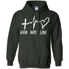 Load image into Gallery viewer, Faith Hope Love Hoodie