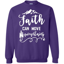 Load image into Gallery viewer, Faith Can Move Mountains Sweatshirt