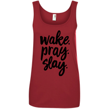Load image into Gallery viewer, Wake. Pray. Slay. Tank Top