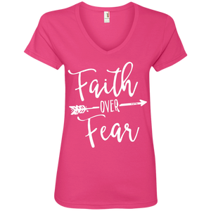 Womens Faith Over Fear T-Shirt