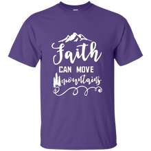 Load image into Gallery viewer, Faith Can Move Mountains T-Shirt