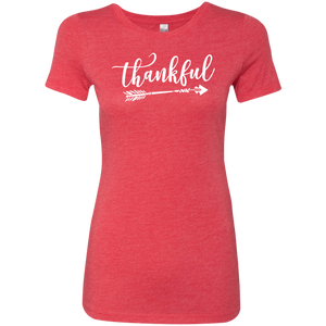 Thankful Womens T-Shirt